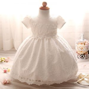 New Aini Babe Newborn Baby Girls Naming Baptism Christening Tutu Lace Gown Dress
