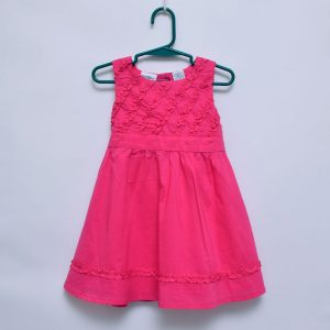 KidsRUs 2T Toddler Girls Pink Sleeveless Cotton Lining Dress