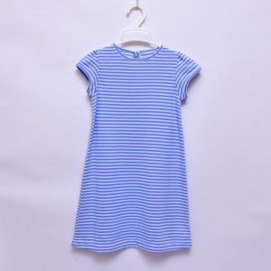 Mothercare Elegant Stripe Girls Casual Indoor Outdoor Dress