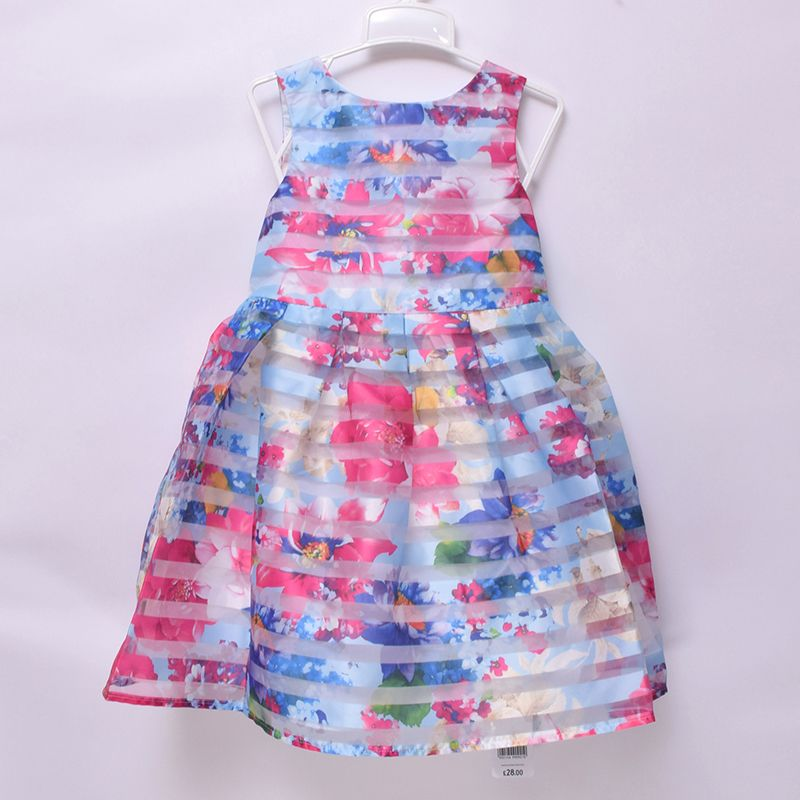 Mothercare Girls Kids Party Wedding Special Occasion Sleeveless Clothing Dress