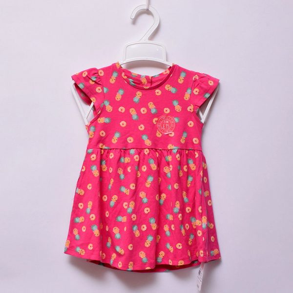 Mothercare UK Baby Girls Hot Casual Indoor Outdoor Wear 100% Pure Cotton Dress