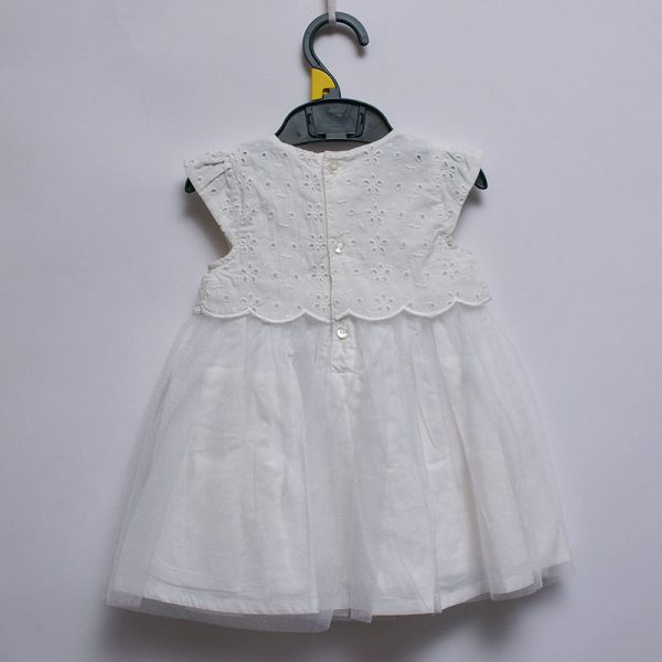 Mothercare UK Baby Toddler Girls Lace Cotton Lining Dress