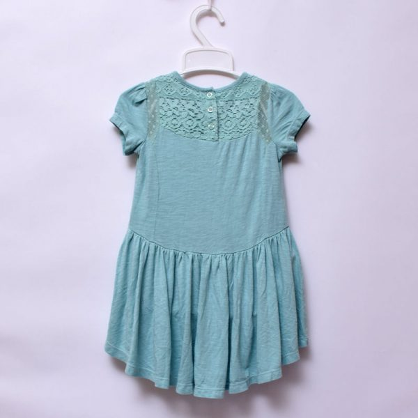 Next Baby Girls Toddler Party Outing Indoor Outdoor Soft Cotton Embroidery Dress