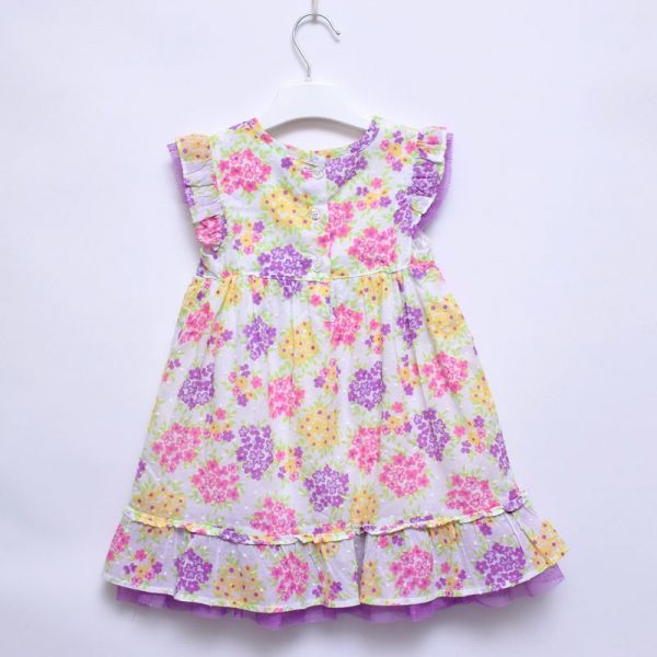 Penelope 3T Girls Wedding Church Party Cotton Lining Dress