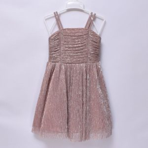 Tu Girls Kids Party Wedding Special Occasion Sleeveless Slim Spaghetti Hand Dress