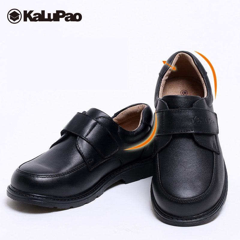 NEW BOYS FORMAL SHOES BLACK PARTIES WEDDING DRESS CHILD SLIP ON SCHOOL SHOES NEW