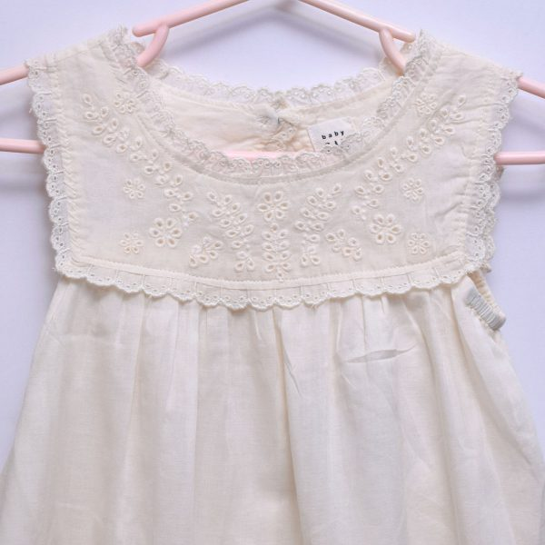 Baby Gap 2 Piece Set Sleeveless Dress With Knicker Panties