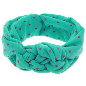 Deluxe Baby Girl Hairband Green