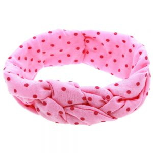 Deluxe Baby Girl Hairband Pink