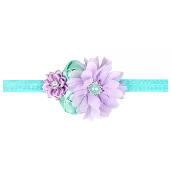 JRFSD Newborn Baby Girl Flower Headband Hairband Accessory