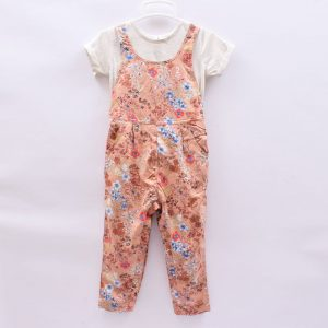 Next 18-24 Months Girls 2 Piece Set T-Shirt Overall Dress