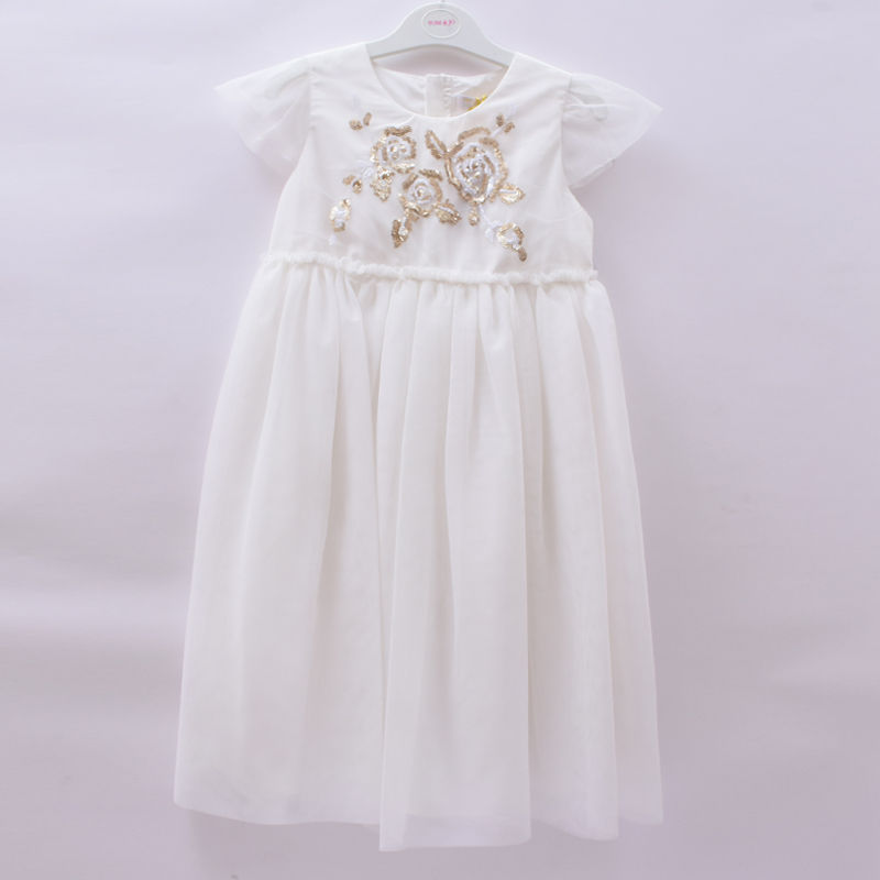 a34666777c Tom   Jo 12 Years Girls White Birthday Party Wedding Dress – Deluxe Closet  GH