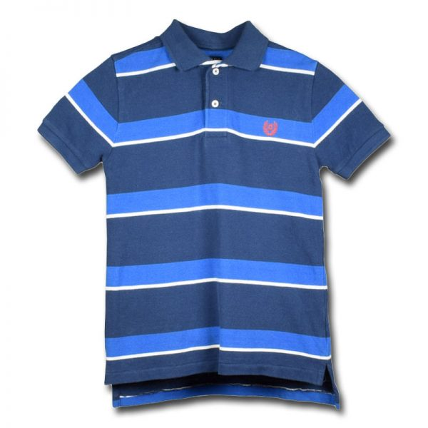 chaps 6-7 years boy casual blue white cotton polo shirt top t-shirt polo golf shirt top casual indoor outdoor party beach dress boys kids teenager age years child deluxe closet gh accra ghana 10