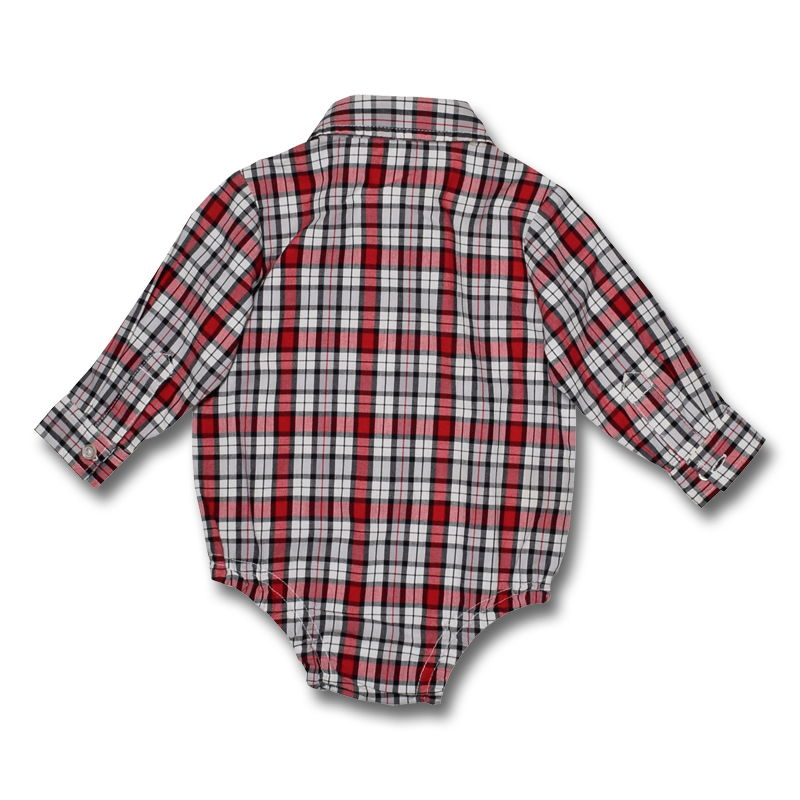 7eb5e5eae3cf George Long Sleeve Bodysuit For Baby Boys 3 To 6 Months Old