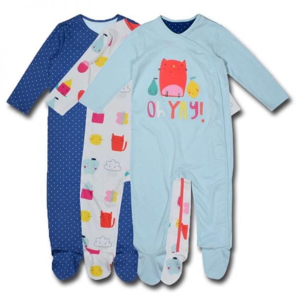 mothercare uk boys 036 months cotton long sleeves sleepsuit sleepsuit bodysuit romper onesie newborn baby boys girls children night pyjamas dress night clothing deluxe closet gh accra ghana 40