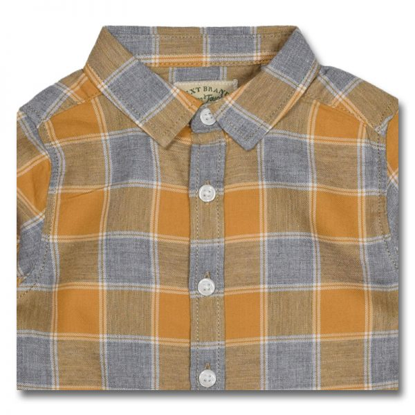 next brand original checked cotton boys long sleeves shirt longsleeve long sleeve shirt top clothing boys girls baby men women children kid t-shirt trouser dress deluxe closet gh accra ghana 30