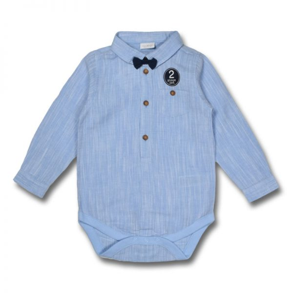 next uk baby boy cotton light blue long sleeve with bow tie longsleeve long sleeve shirt top clothing boys girls baby men women children kid t-shirt trouser dress deluxe closet gh accra ghana 10
