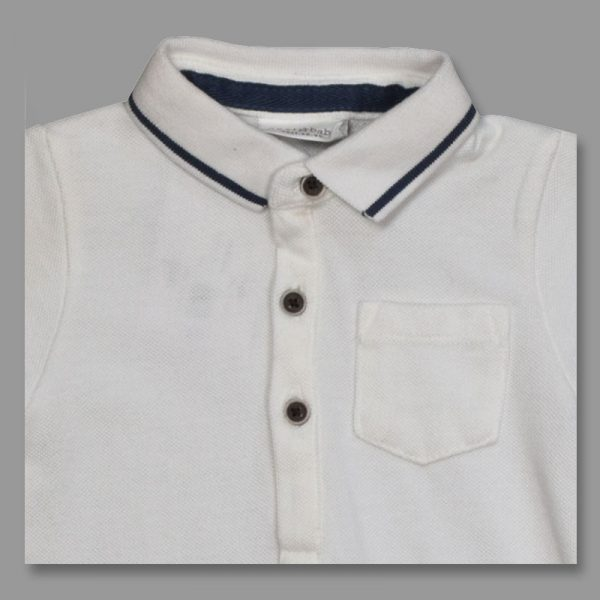 next uk baby boy white polo golf casual short sleeve shirt t-shirt polo golf shirt top casual indoor outdoor party beach dress boys kids teenager age years child deluxe closet gh accra ghana 30