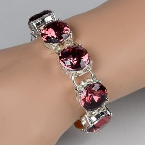 high quality purple crystal chain link bracelets for women bracelets bangles beads fashion accessories jewelry jewellery charm chain necklaces women men girls deluxe closet gh accra ghana 10