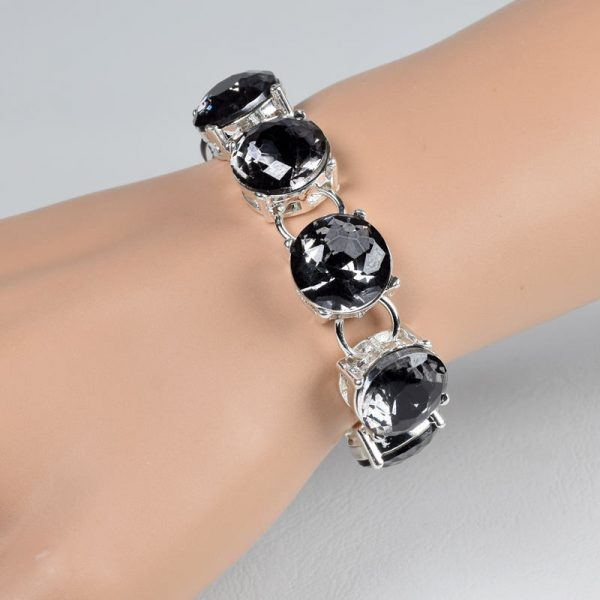 quality black round crystal chain link bracelets for women bracelets bangles beads fashion accessories jewelry jewellery charm chain necklaces women men girls ghana accra deluxe closet gh 10
