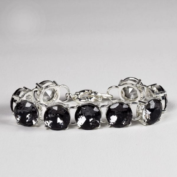 quality black round crystal chain link bracelets for women bracelets bangles beads fashion accessories jewelry jewellery charm chain necklaces women men girls ghana accra deluxe closet gh 20