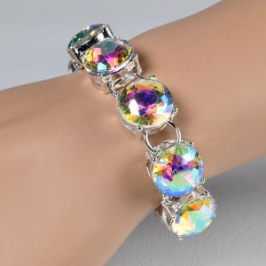 quality multi-colour crystal chain link bracelets women bracelets bangles beads fashion accessories jewelry jewellery charm chain necklaces women men girls ghana accra deluxe closet gh 11