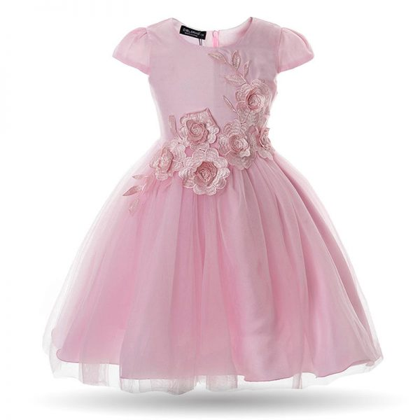 pink baby girl birthday party flower wedding gown dress ghana accra dress baby girls child years old kids straight infant clothing party birthday outing occasion wedding deluxe closet gh 10
