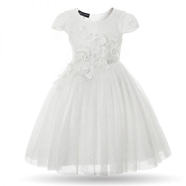 white baby girl birthday party flower wedding gown dress ghana accra dress baby girls child years old kids straight infant clothing party birthday outing occasion wedding deluxe closet gh 10